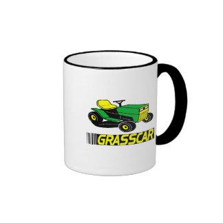 Grasscar T-shirts and Gifts. Ringer Mug