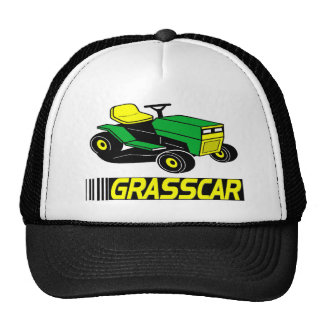 Grasscar T-shirts and Gifts. Trucker Hat