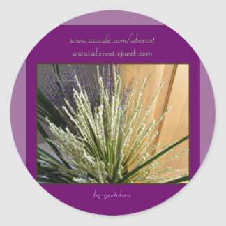 Grasses and Heather Stickers