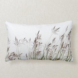 Grasses | Nature | Photography Lumbar Pillow