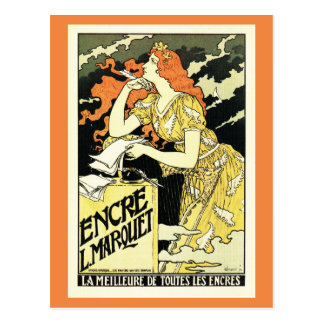 Grasset, publicidad francesa de la tinta del tarjetas postales