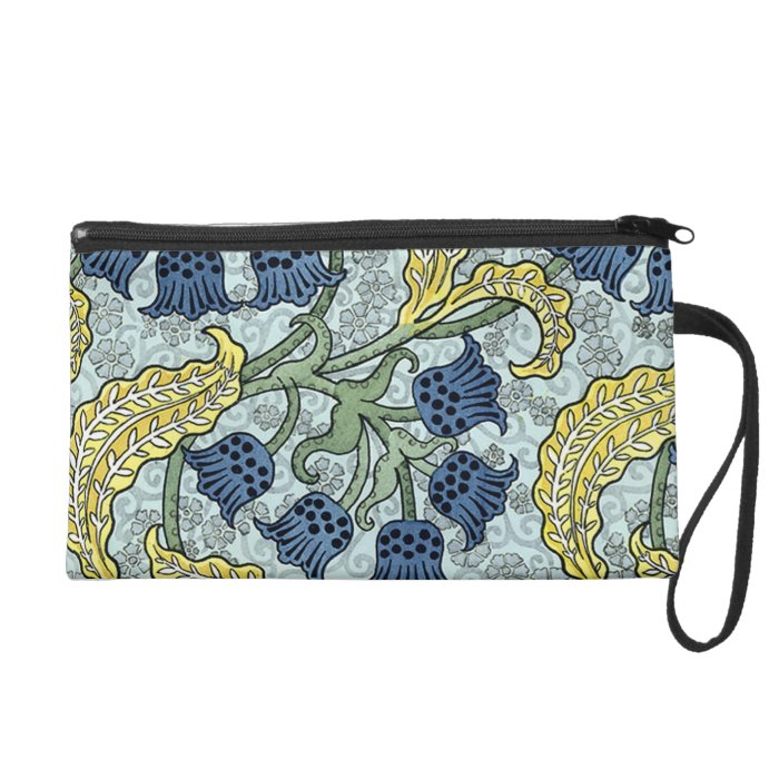 Grasset's Vintage Lily of the Valley Wristlet Purse