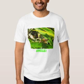 Grasshopper 1383, SMILE! Tee Shirt