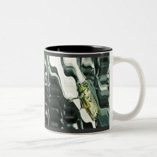 Grasshopper Art Two-Tone Coffee Mug