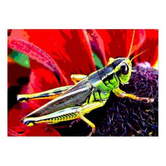 Grasshopper ATC Large Business Card