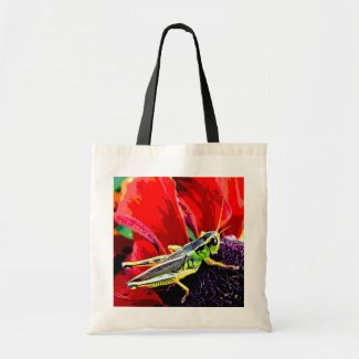 Grasshopper Canvas Bags
