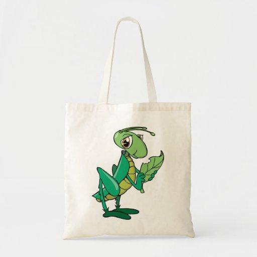 Grasshopper Tote Bags
