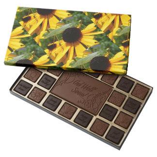 Grasshopper & Black-eye Susan 45 Piece Box Of Chocolates