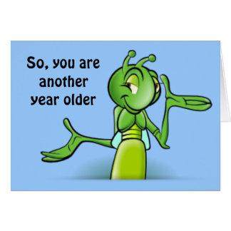 Grasshopper Card