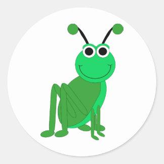 Grasshopper Classic Round Sticker