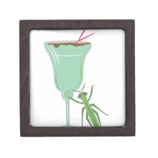 Grasshopper Drink Keepsake Box