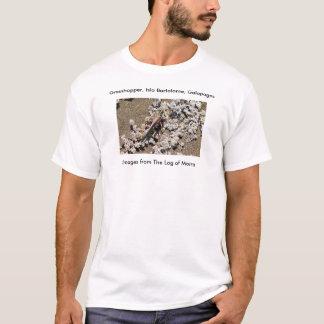 Grasshopper, Isla Bartolome, Galapagos T-Shirt