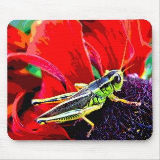 Grasshopper Mouse Pad