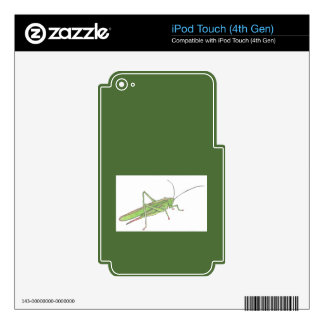 Grasshopper Skin for iPod Touch (4th Gen)