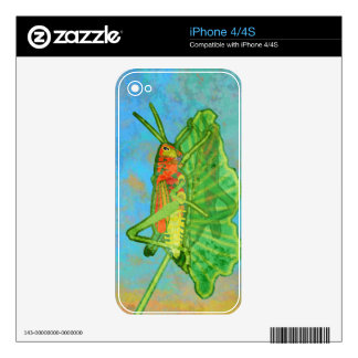 Grasshopper Skins For iPhone 4S