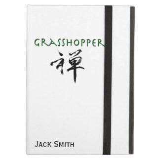 "Grasshopper with ""Zen"" symbol iPad Air Cover"
