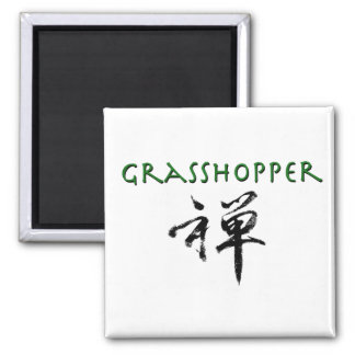 "Grasshopper with ""Zen"" symbol Magnet"