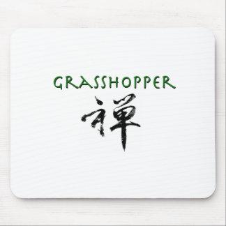 "Grasshopper with ""Zen"" symbol Mouse Pad"