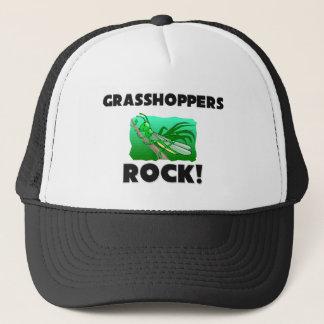 Grasshoppers Rock Trucker Hat