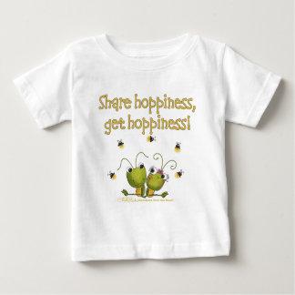 Grasshoppers Share Hoppiness Baby T-Shirt
