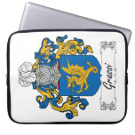 Grassi Family Crest Computer Sleeve