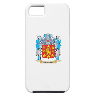 Grassie Coat of Arms - Family Crest iPhone 5 Case