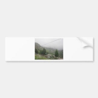 grassland sky bumper sticker
