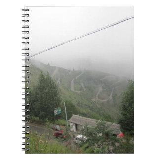 grassland sky notebook
