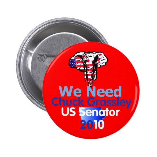 GRASSLEY 2010 Button