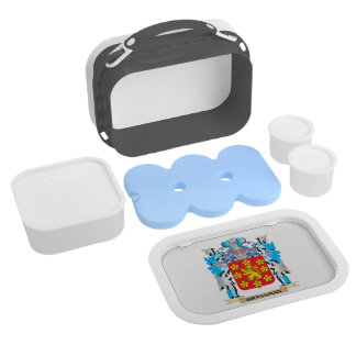 Grassman Coat of Arms - Family Crest Yubo Lunch Boxes