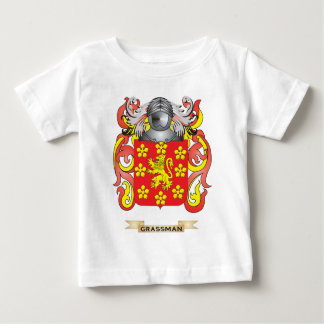 Grassman Coat of Arms (Family Crest) T Shirts