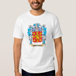 Grassman Coat of Arms - Family Crest Tshirts