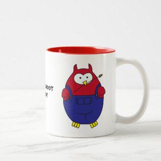Grassroot Hoot Two-Tone Coffee Mug