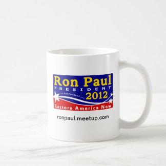 Grassroots Ron Paul 2012 Ceramic Mug