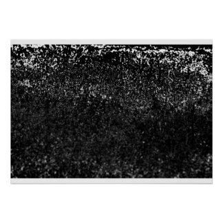 grassy black poster