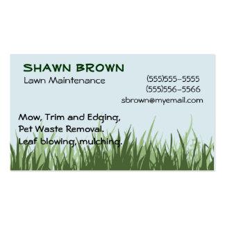 Grassy Business Card