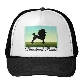 Grassy Field Standard Poodle Hats