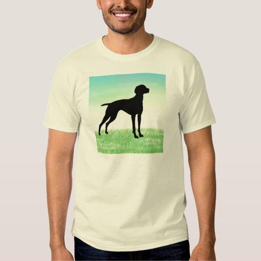 Grassy Field Vizsla t-shirts & gifts