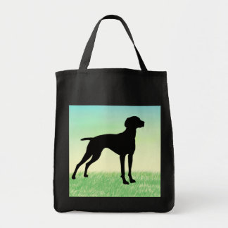 Grassy Field Vizsla t-shirts & gifts Tote Bag