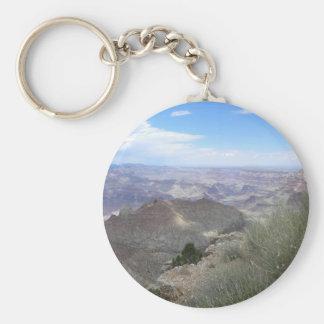 Grassy Grand Canyon keychain