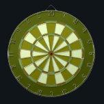 """Grassy Green Dartboard With Darts<br><div class=""""desc"""">Cool green colored dart board.</div>"""