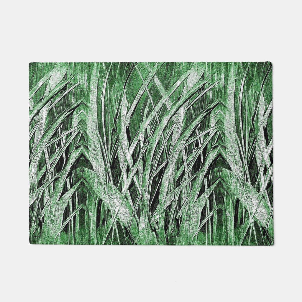 Grassy Green Doormat