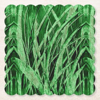 Grassy Green Drink Coasters