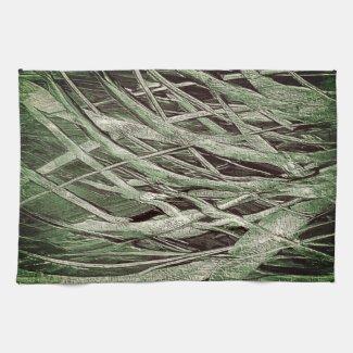 Grassy Green Kitchen Towel