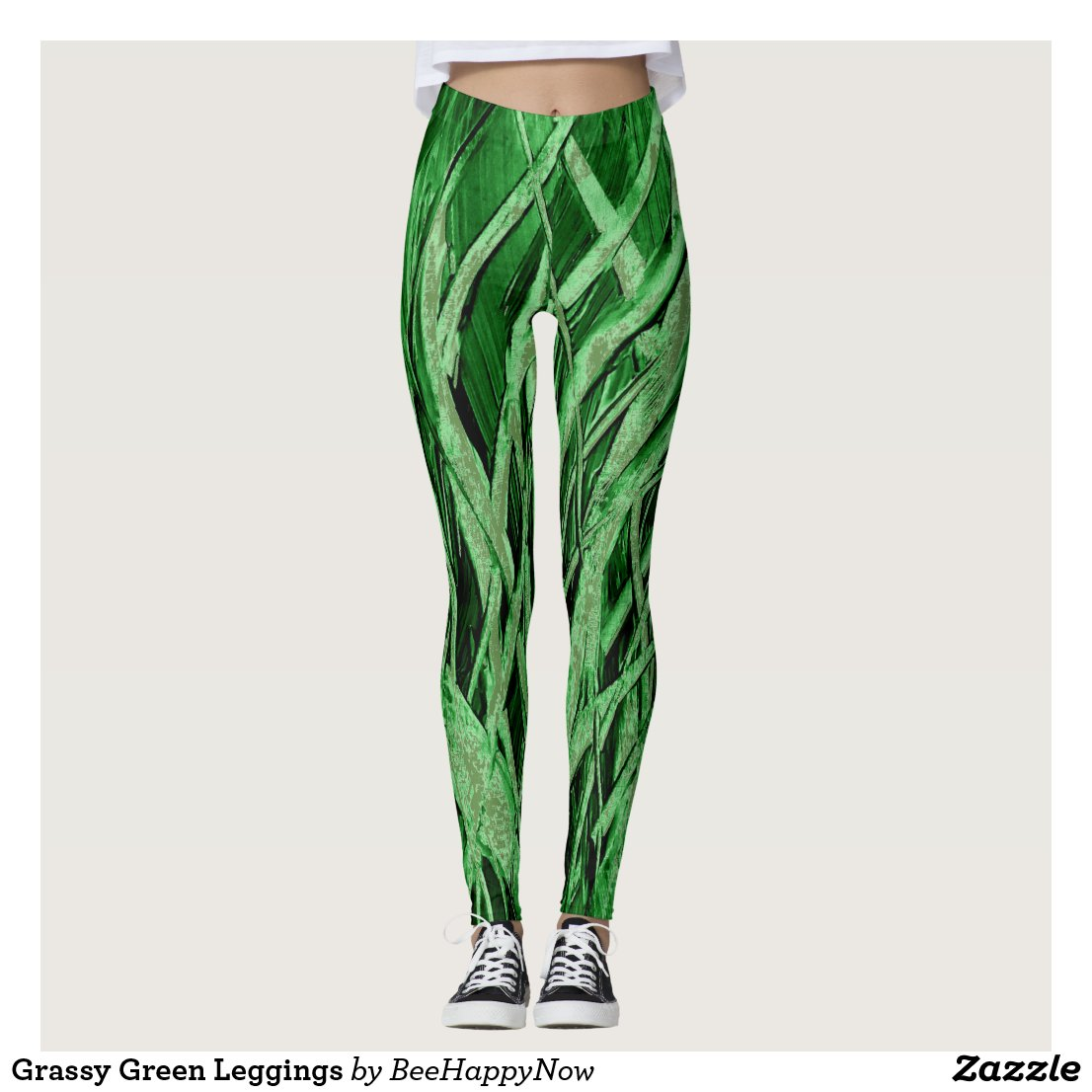 Grassy Green Leggings