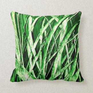 Grassy Green Pillow