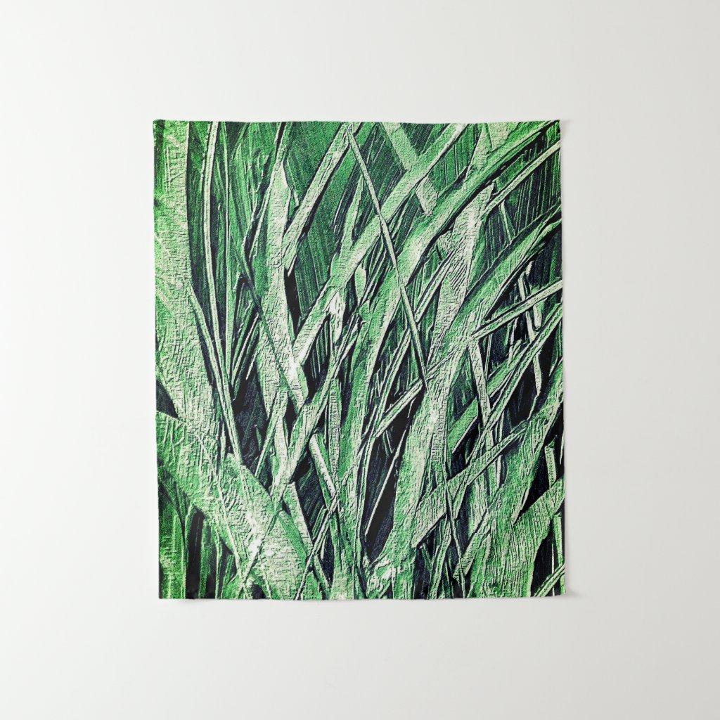 Grassy Green Tapestry