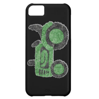 Grassy green tractor iPhone 5C cases