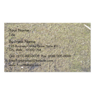 Grassy Ground Texture Double-Sided Standard Business Cards (Pack Of 100)
