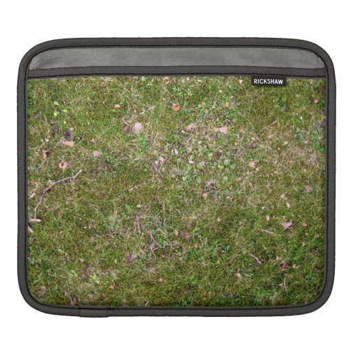 Grassy ground texture sleeve for iPads